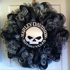 harley+davidson+deco+mesh+wreath | Add it to your favorites to revisit it later.
