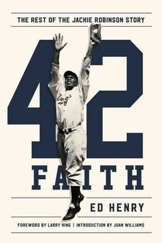"""Read Faith The Rest of the Jackie Robinson Story"""" by Ed Henry available from Rakuten Kobo. Jackie Robinson, Branch Rickey, and the hidden hand of God that changed history Journalist and baseball lover Ed Henry r. The Jackie Robinson Story, Robinson Family, Baseball Records, Biography Books, Recorded Books, Book Cover Design, Book Design, Free Books, Metal Art"""