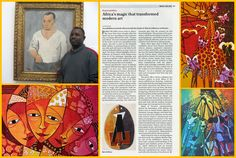 """Pablo Picasso was deeply influenced by African art after visiting an exhibition in Paris. It changed Picasso's style into """"cubism""""."""