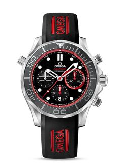 OMEGA SEAMASTER Watch DIVER 300 M CO-AXIAL CHRONOGRAPH 44 MM