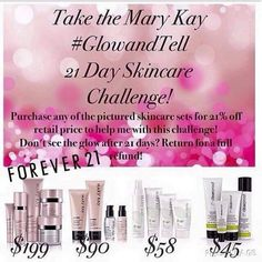 The first 21 people to accept the Glow and Tell Challenge will get ...