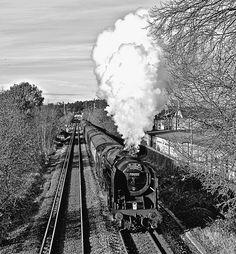 """BR Standard 7 Class Pacific 70000 """"Britannia"""""""
