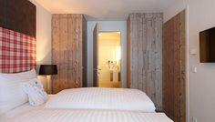 - designer suite one bedroom One Bedroom, Lodges, Mountain, Furniture, Design, Home Decor, Kaprun, Cabins, Decoration Home