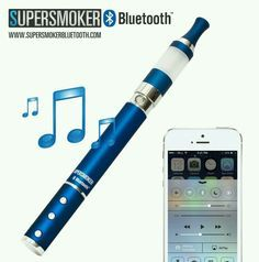Bluetooth Vape Pen built-in mic. and stereo speakers vol +/- and call buttons