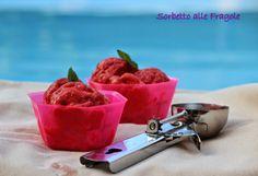 Un giorno senza fretta: Sorbetto alle fragole with our Cup Spavalda #Poloplast
