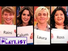 I swear I could not stop laughing while I watched this.  Austin & Ally Cast Tells All | Disney Playlist - YouTube