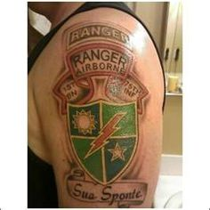 tat Army Tattoos Army Ranger S Military Tattoos Rangers Army Army . Great Tattoos, Body Art Tattoos, I Tattoo, Army Tattoos, Military Tattoos, Airborne Ranger, Military Motivation, Us Army Rangers, 75th Ranger Regiment