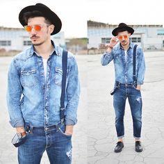 Borsalino Hat, Dondup Jeans