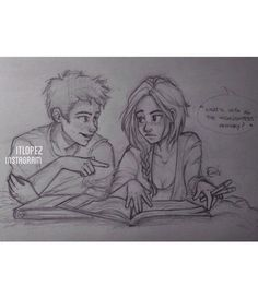 Is it just me, or does this look very similar to Percy and Annabeth?