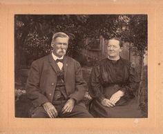 Great Grandma and Grandpa Rader
