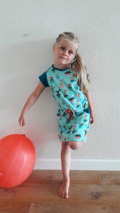 Candy dress, LMV, jurk naaien, kinderen
