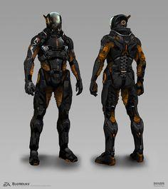Mass Effect Andromeda - Pathfinder Concepts, Brian Sum on ArtStation at https://www.artstation.com/artwork/65R40