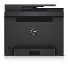 Dell E525w LED-Farblaser-Multifunktionsdrucker (600x600dpi, USB, LAN, WLAN inkl. AirPrint , Fax, Drucken, Scannen, Kopieren) - Nachfolger vom C1660w & C1765nf/nfw