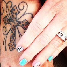 My leopard tattoo...