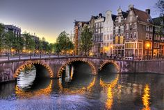 Amsterdam, Netherlands. I don't know if there's anything specific that I want to see there... I just want to see it!