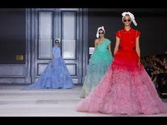 ▶ Giambattista Valli | Haute Couture Fall Winter 2014/2015 Full Show | Exclusive - YouTube