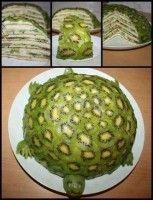 Kivili Kaplumbağa Pasta