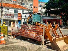 Ponto de ônibus da Rua Odilon Santos será desativado temporariamente  para obras da Praça Brigadeiro Faria Rocha