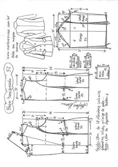 Best 12 I want these Burberrys so baaaaad – SkillOfKing. T Shirt Sewing Pattern, Blazer Pattern, Pattern Drafting, Jacket Pattern, Baby Dress Patterns, Coat Patterns, Clothing Patterns, Sewing Clothes, Diy Clothes