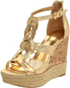 DV by Dolce Vita Women's Bandana Wedge Sandal « ShoeAdd.com – More Shoes For You Every Day