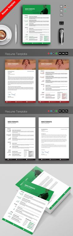 Social Media Resume Template   CV Resume cv, Letterhead and - resume social media