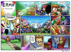 Erma comic