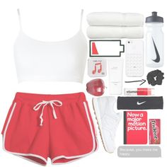 Do it! by liv-vic on Polyvore featuring polyvore, fashion, style, Chicnova Fashion, Sloggi, New Balance, NIKE, Happy Plugs, Hermès and Linum Home Textiles