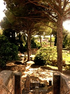Far from the crowded places, Ostia Antica in Rome worth the visit with kids. Where To Go, In This World, Family Travel, Rome, Things To Do, Italy, Places, Kids, Viajes