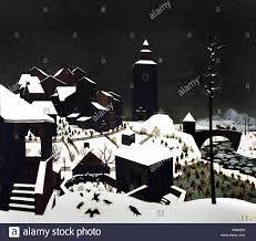 "blastedheath: ""journalofanobody Franz Sedlacek (Austrian, Winterlandschaft, Oil on plywood, 55 x cm. Art And Illustration, Nocturne, Great Paintings, Landscape Paintings, George Grosz, Winter's Tale, Art Database, Winter Landscape, Photo Art"