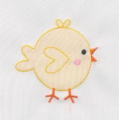 Shadow Work & Embroidery :: Babies :: Shadow Little Fat Chick