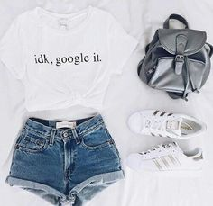 Summer outfit - Graphic tee