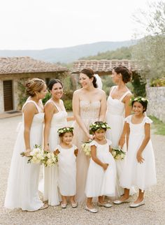 Photography: Marisa Holmes - www.marisaholmesblog.com Read More: http://www.stylemepretty.com/2014/08/04/intimate-destination-wedding-in-tuscany/