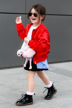 Kids Dr. Martens Street Style by Miss Kaira | EdgyCuts