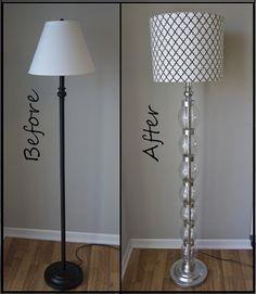 DIY : une lampe design en bouteilles recyclées!