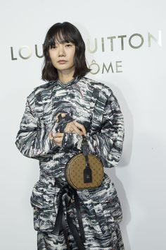 Doona Bae attends the Opening Of The Louis Vuitton Boutique as part of the Paris Fashion Week Womenswear Spring-Summer 2018 on October 2, 2017 in Paris, France.