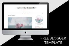 Free premade blogger template | yuniquelysweet.blogspot.com