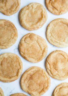 This super soft snickerdoodle cookie recipe will instantly win you over! It truly is the best. It's a classic recipe that makes soft and chewy snickerdoodle cookies with lots of flavor every time. Cookie Time, Baking Recipes, Cookie Recipes, Dessert Recipes, Soft Snickerdoodle Cookie Recipe, Snicker Doodle Cookies, Cupcakes, Almond Cakes, Holiday Baking