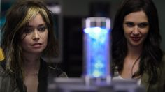 Alphas- Skylar Adams (Summer Glau) and Nina Theroux (Laura Mennell)...