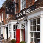 Woburn Restaurant - The Black Horse. went with Taylors xmas 2014.