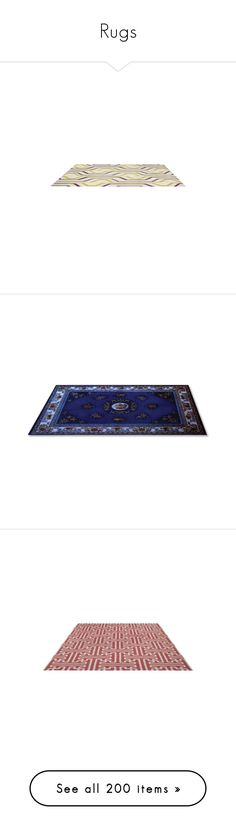 """""""Rugs"""" by amazing-yessi ❤ liked on Polyvore featuring home, rugs, floor, tapetes, blue, blue area rugs, blue rug, hand loomed rug, hand-loomed rug and hand woven rugs"""
