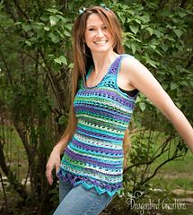Summer Love-Knot Free Pattern on Ravelry from Dragonbird Creations Designs