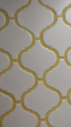 Yellow grout!