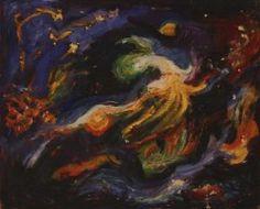 Space II. (1952) Space, Artist, Painting, Display, Artists, Painting Art, Paintings, Paint, Draw