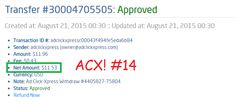 I WORK FROM HOME less than 10 minutes and I manage to cover my LOW SALARY INCOME. If you are a PASSIVE INCOME SEEKER, then AdClickXpress (Ad Click Xpress) is the best ONLINE OPPORTUNITY for you. Online income is possible with adclickxpress! http://www.adclickxpress.com/?r=vjgrhf23ugw&p=aa