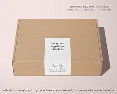 Food Packaging Design, Brand Packaging, Branding Design, Packaging Ideas, Box Branding, Kraft Box Packaging, Packaging Stickers, Label Stickers, Online Labels