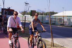 Visite du village olympique, Rio