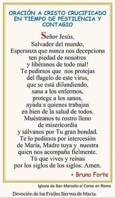 Praying The Rosary Catholic, Catholic Prayers In Spanish, Catholic Religion, Spiritual Prayers, Spiritual Words, Prayers For Healing, Prayer Scriptures, God Prayer, Prayer Quotes