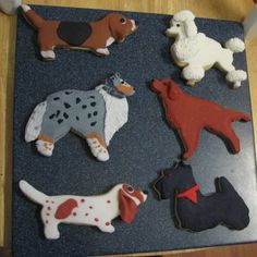 Neat Decorated Cookies My Mom Made -- Dogs, Horses & Goats - Aquarium Forum