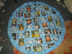 Blue Tree Skirt