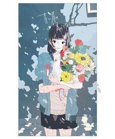 """かとうれい """"卒業おめでとう"""" #illustration #artwork #drawing"""""""
